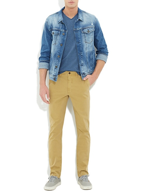 Mavi Pantolon | Slim Fit Renkli